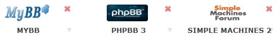 comparativa mybb phpbb smf