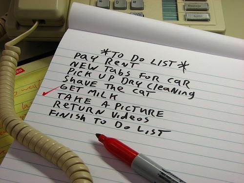 Lista de pasos al configurar un foro